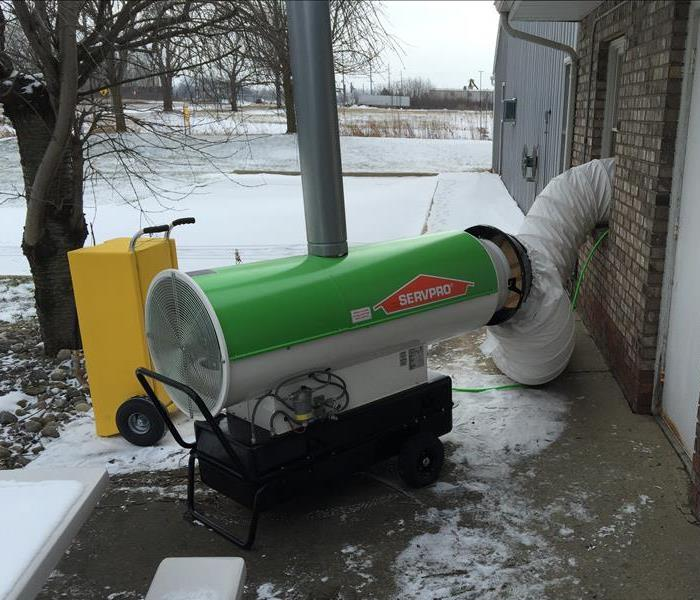 Commercial Winter Pipe Freezes