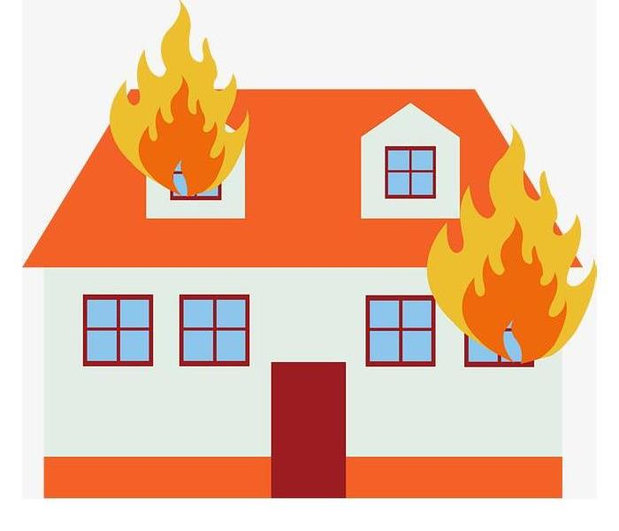 Fire Damage Spring Fire Safety Tips